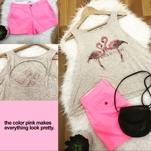 Tops - Cute 💕 Be A Flamingo in a World of Pigeons tank